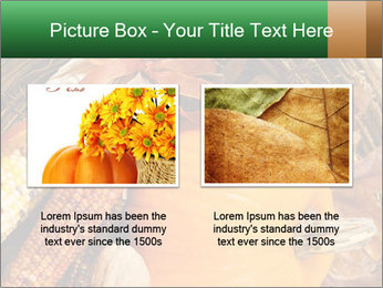 A colorful orange pumpkin PowerPoint Template - Slide 18
