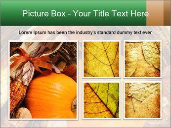 A colorful orange pumpkin PowerPoint Template - Slide 19