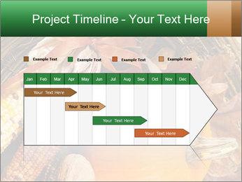 A colorful orange pumpkin PowerPoint Template - Slide 25