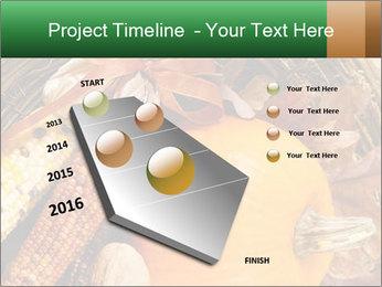 A colorful orange pumpkin PowerPoint Template - Slide 26