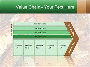 A colorful orange pumpkin PowerPoint Template - Slide 27