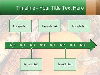 A colorful orange pumpkin PowerPoint Template - Slide 28
