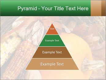 A colorful orange pumpkin PowerPoint Template - Slide 30