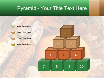 A colorful orange pumpkin PowerPoint Template - Slide 31