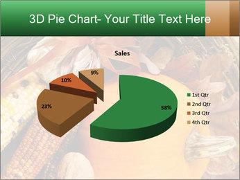 A colorful orange pumpkin PowerPoint Template - Slide 35