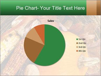 A colorful orange pumpkin PowerPoint Template - Slide 36
