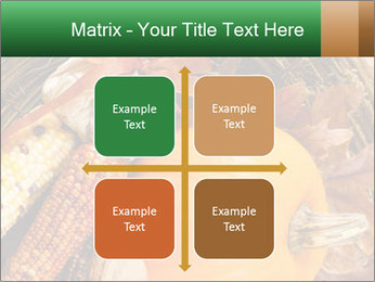 A colorful orange pumpkin PowerPoint Template - Slide 37