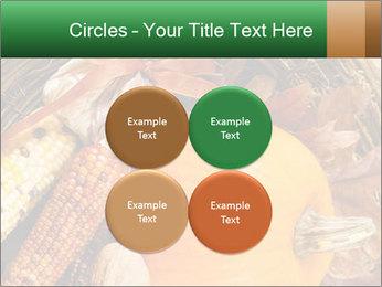 A colorful orange pumpkin PowerPoint Template - Slide 38
