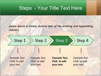 A colorful orange pumpkin PowerPoint Template - Slide 4