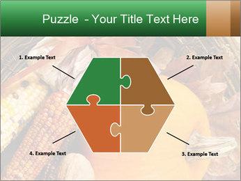 A colorful orange pumpkin PowerPoint Template - Slide 40