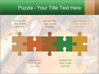 A colorful orange pumpkin PowerPoint Template - Slide 41