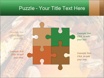 A colorful orange pumpkin PowerPoint Template - Slide 43