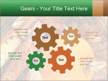 A colorful orange pumpkin PowerPoint Template - Slide 47