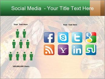 A colorful orange pumpkin PowerPoint Template - Slide 5
