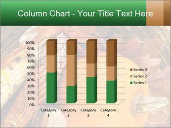 A colorful orange pumpkin PowerPoint Template - Slide 50