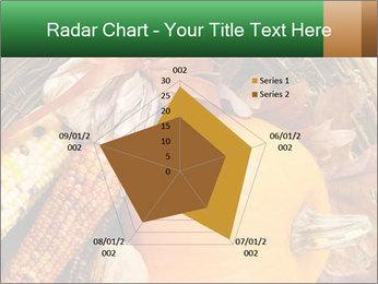 A colorful orange pumpkin PowerPoint Template - Slide 51