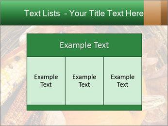 A colorful orange pumpkin PowerPoint Template - Slide 59