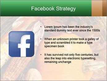 A colorful orange pumpkin PowerPoint Template - Slide 6