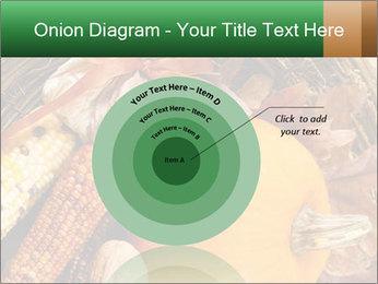 A colorful orange pumpkin PowerPoint Template - Slide 61