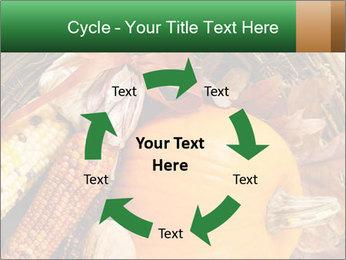 A colorful orange pumpkin PowerPoint Template - Slide 62