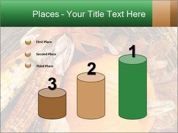 A colorful orange pumpkin PowerPoint Template - Slide 65