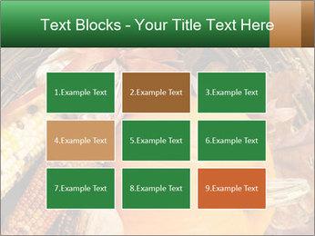 A colorful orange pumpkin PowerPoint Template - Slide 68