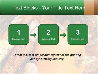 A colorful orange pumpkin PowerPoint Template - Slide 71