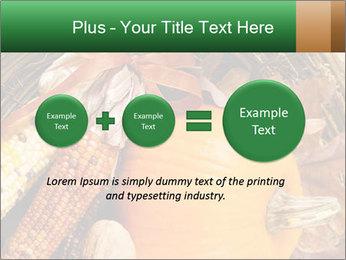 A colorful orange pumpkin PowerPoint Template - Slide 75