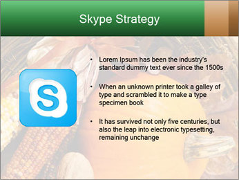 A colorful orange pumpkin PowerPoint Template - Slide 8