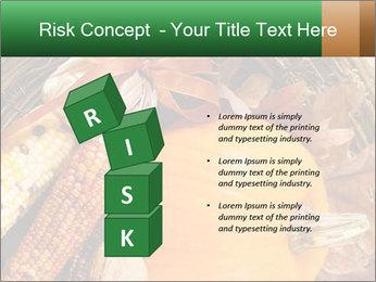 A colorful orange pumpkin PowerPoint Template - Slide 81