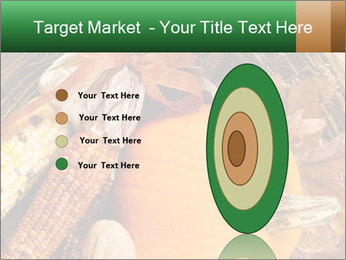A colorful orange pumpkin PowerPoint Template - Slide 84
