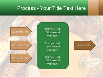 A colorful orange pumpkin PowerPoint Template - Slide 85