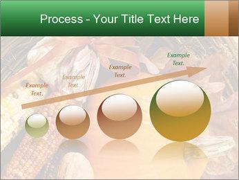 A colorful orange pumpkin PowerPoint Template - Slide 87