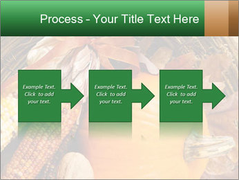 A colorful orange pumpkin PowerPoint Template - Slide 88