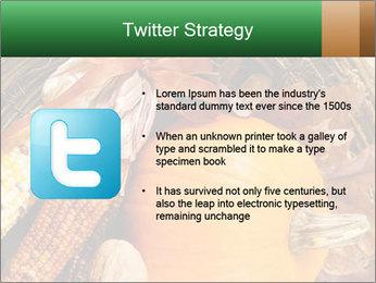 A colorful orange pumpkin PowerPoint Template - Slide 9