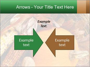 A colorful orange pumpkin PowerPoint Template - Slide 90