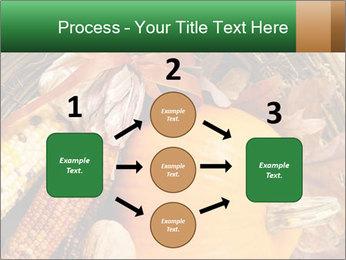 A colorful orange pumpkin PowerPoint Template - Slide 92