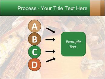 A colorful orange pumpkin PowerPoint Template - Slide 94