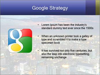 Bangkok at night PowerPoint Template - Slide 10