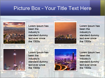 Bangkok at night PowerPoint Template - Slide 14