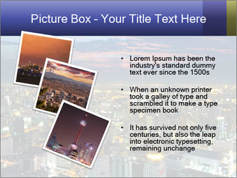 Bangkok at night PowerPoint Template - Slide 17