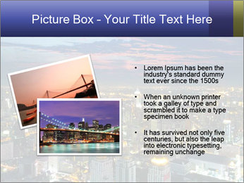 Bangkok at night PowerPoint Template - Slide 20