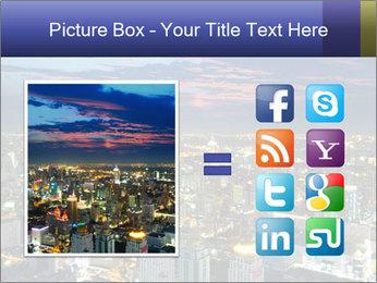 Bangkok at night PowerPoint Template - Slide 21