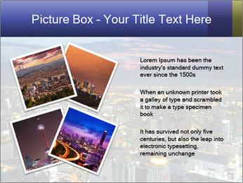 Bangkok at night PowerPoint Template - Slide 23