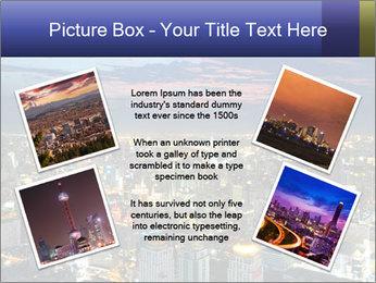 Bangkok at night PowerPoint Template - Slide 24