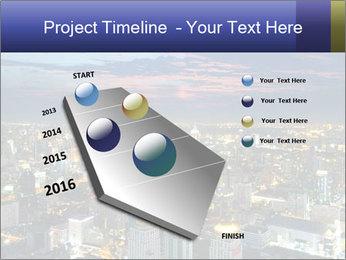 Bangkok at night PowerPoint Template - Slide 26