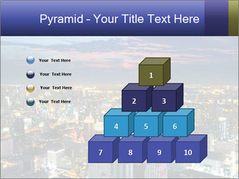 Bangkok at night PowerPoint Template - Slide 31