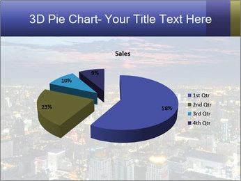 Bangkok at night PowerPoint Template - Slide 35