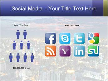 Bangkok at night PowerPoint Template - Slide 5