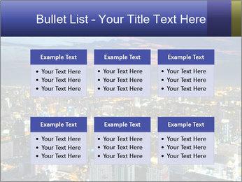 Bangkok at night PowerPoint Template - Slide 56